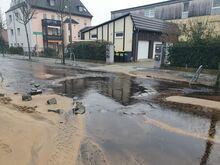 05.02.21- Rohrbruch Bautzener Straße 1